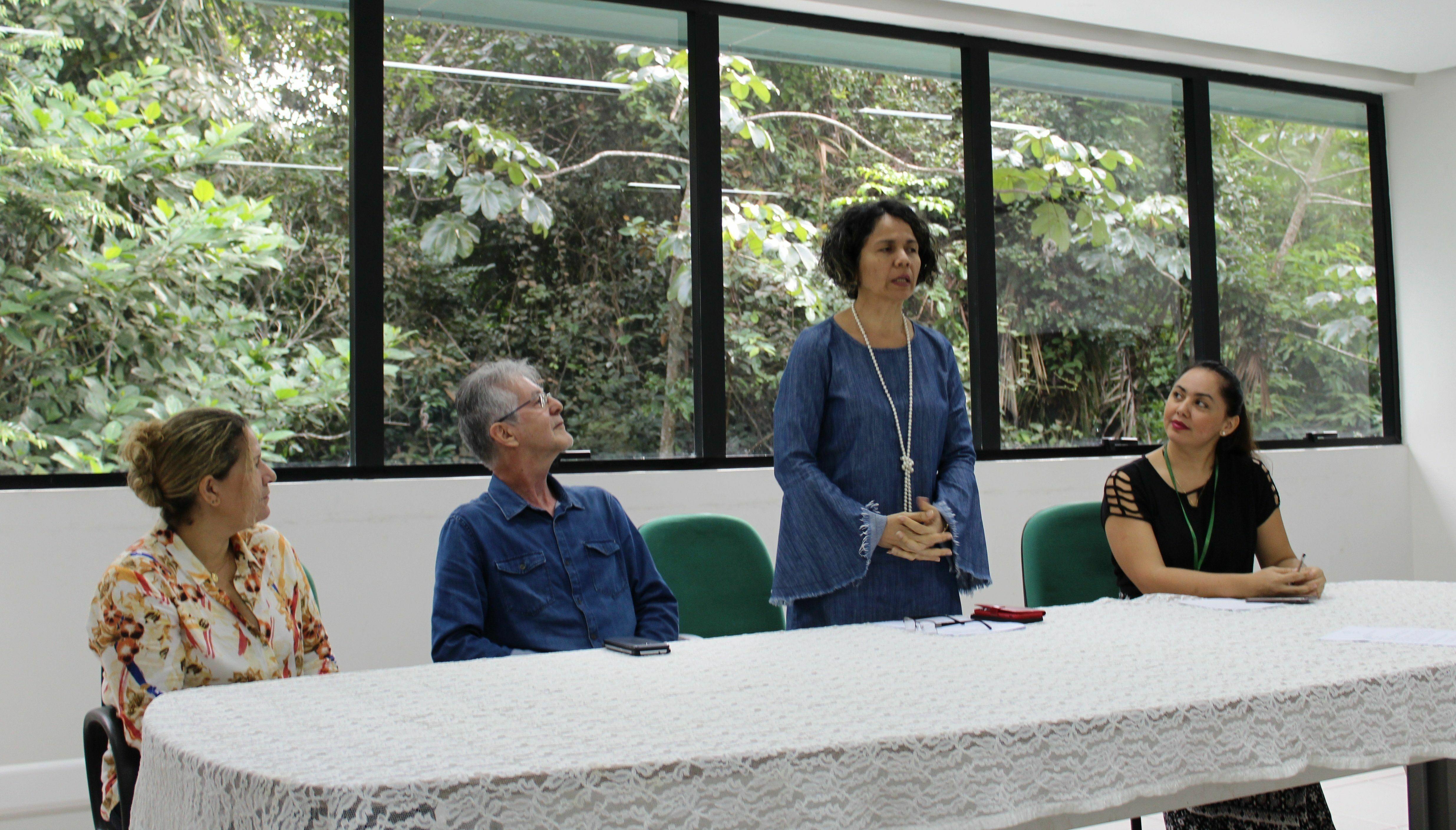 Pró-reitora de Planejamento e Desenvolvimento Institucional, professora Kleomara Cerquinho, destacou a relevância do Imprensa VIP para a Universidade